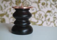 Kupfer  gebürstet, H: 13,5 cm