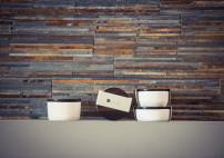 Porzellan, Deckel aus Makassar-Ebenholz